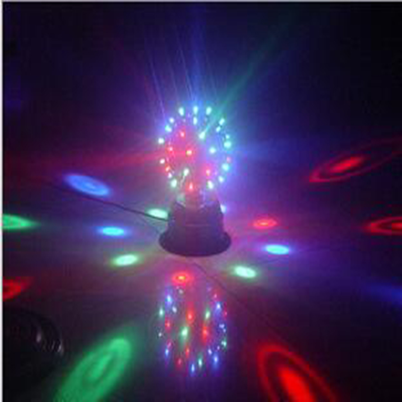 купить 20W RGB led stage lighting EU/US Plug LED RGB effect Lights Wedding Club Show  Laser disco bar lamp DJ KTV  Party Dancing Lamp дешево