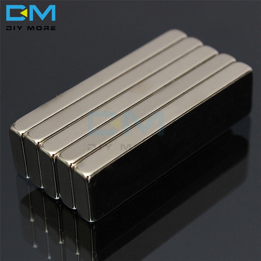 N52 Neodymium Magnet 40x10x4mm Permanent NdFeB Small Mini Super Powerful Strong Magnetic Nickel Copper Magnets
