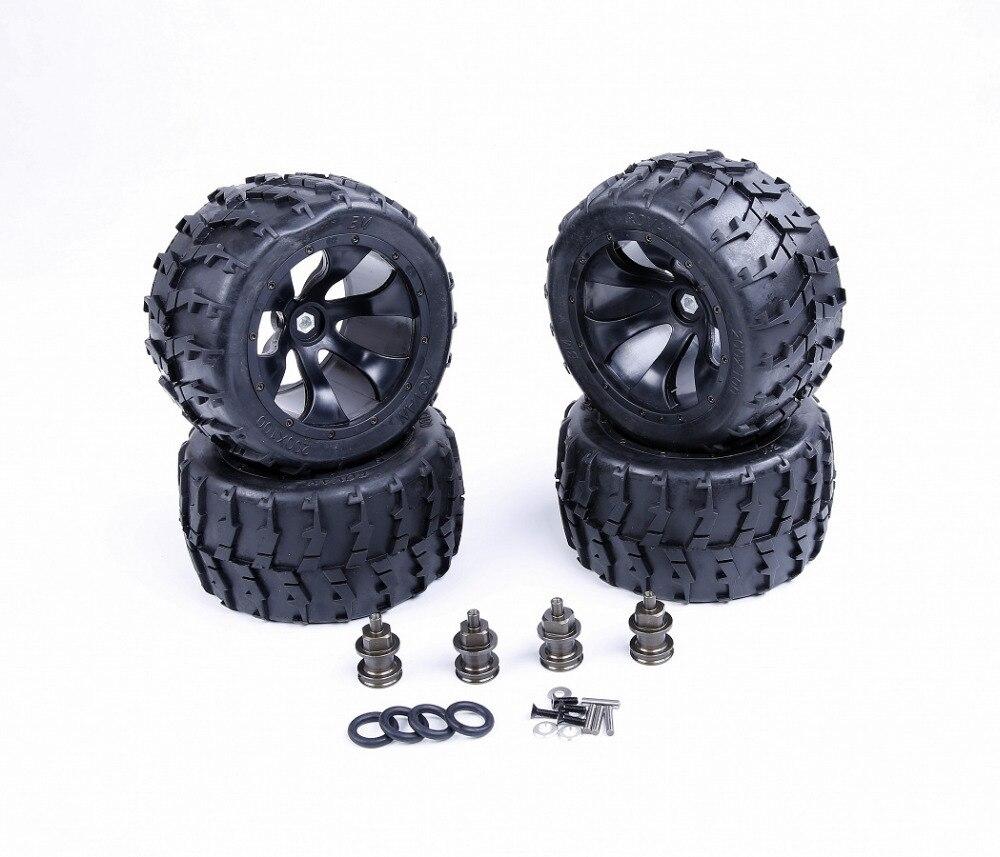 Изменен Йети колесо комплект подходит для 1/5 лози 5ive-Т рован ЛТ та баия Привод на 4 колеса RC части автомобиля
