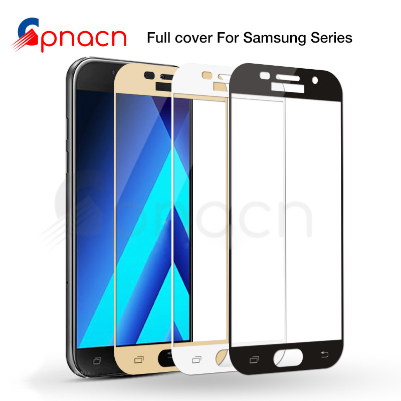 Protective Glass On The For Samsung Galaxy S7 J3 J5 J7 2016 2017 J2 J4 J6 J8 2018 Tempered Screen Protector Glass Film Case
