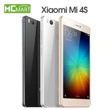Original xiaomi mi4s smartphone mi miui 7 snapdragon808 4S 5.0 pulgadas 4g lte teléfonos móviles
