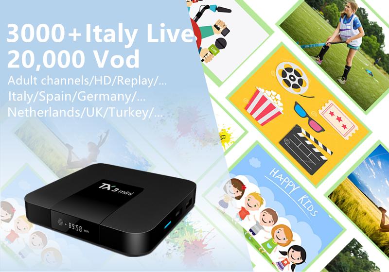 Europe iptv 20,000 VOD XXX channels TX3Mini Android 7.1 1G/16GB 2G/16GB Amlogic S905W Quad Core 4K Italy Germany France iptv box колесные диски pdw wheels xxx 8x18 5x114 3 d67 1 et45 mb