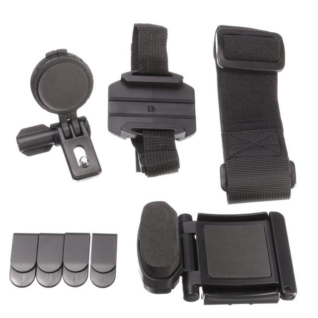 Cabeça universal kit de montagem para sony ação cam fdr-x1000vr hdr-as200v blt-uhm1 cinto cabeça com montagem titular estabilizador