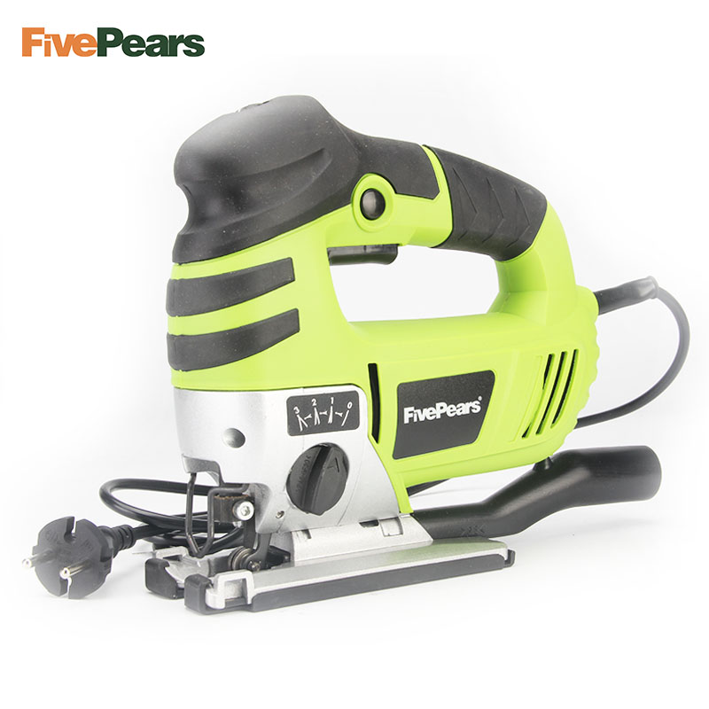 FivePears Jig Saw Curve Saw Electric 750W 220V Electric Saw Cutting Machine Woodworking Tools Chainsaw With EU plug 96pcs 130mm scroll saw blade 12 lots jig cutting wood metal spiral teeth 1 8 12pcs lots 8 96pcs