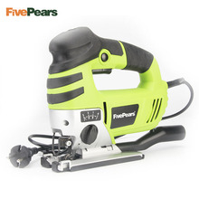 FivePears Jig Saw Curve Saw Electric 750W 220V Electric Saw Cutting Machine Woodworking Tools Chainsaw With EU plug