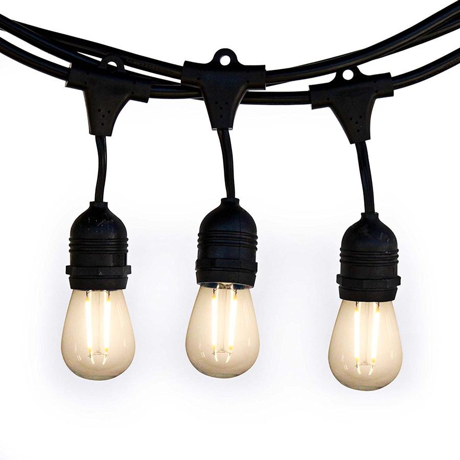 LED Waterproof E27 String Lights illuminate10M10 bulb lamp US/EU plug garden Christmas courtyard Terrace party Carnival Festival все цены