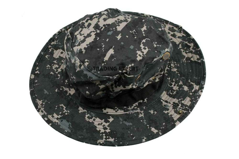 efa0e139a7c34 -You are getting a New USMC Marpat German Woodland Boonie Hat -Made by 35%  cotton and 65% polyester -Adjustable strap for fitting