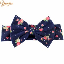 Floral baby headbands – available in 19 different colors