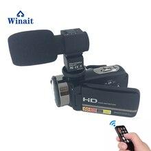 2017 Популярные профессиональный HDV Ночное видение Регистраторы видеокамера Full HD 1080 P 24mp Дистанционное управление мини камеры цифровая видеокамера