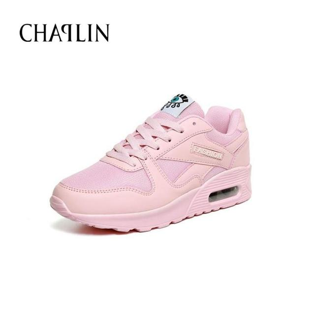 New Arrival Women Casual Breathable Shoes 5 Colors Height Increasing Shoe For Women  Solid Lace-up Round Toe Shoe For Female 268