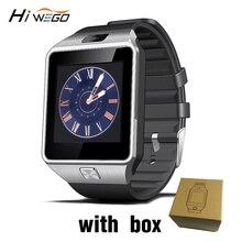 Smart Watch Men DZ09 Bluetooth Sports Smartwatch Support SIM Card Camera MenWomen Smart WristWatch for IOS Android Reminder
