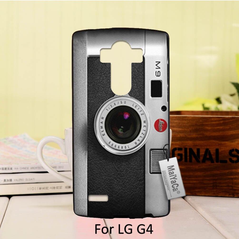Hot impreso accesorios del teléfono fresco para case lg g4 cámara diseño clásico