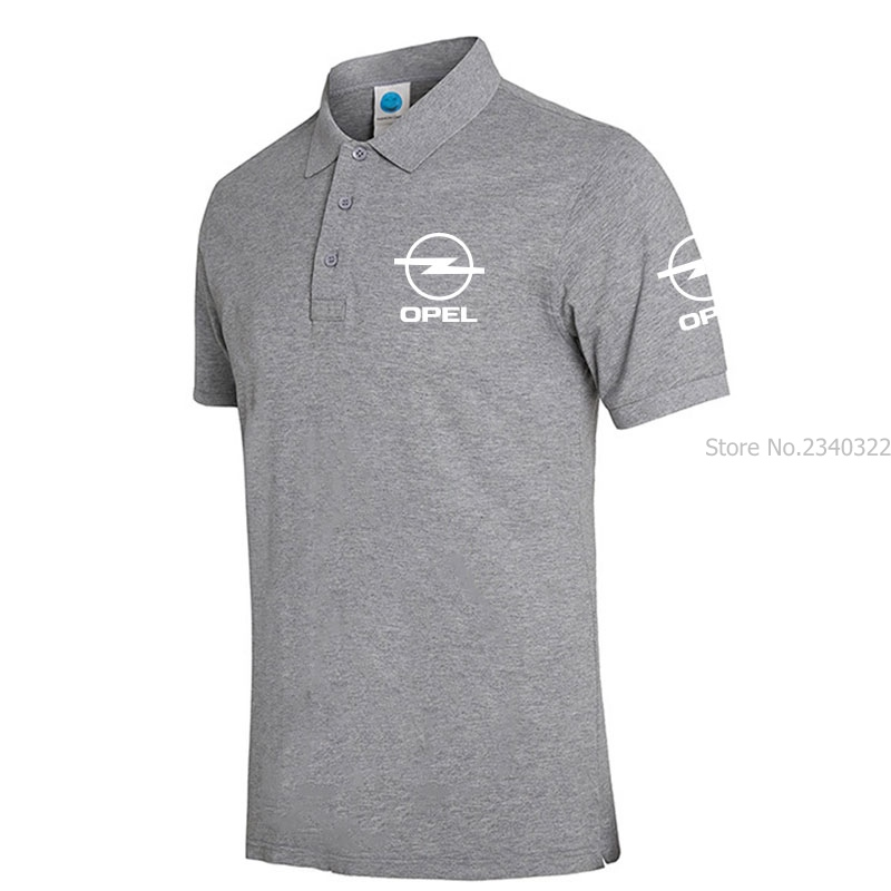 OPEL Mens Polo Shirt