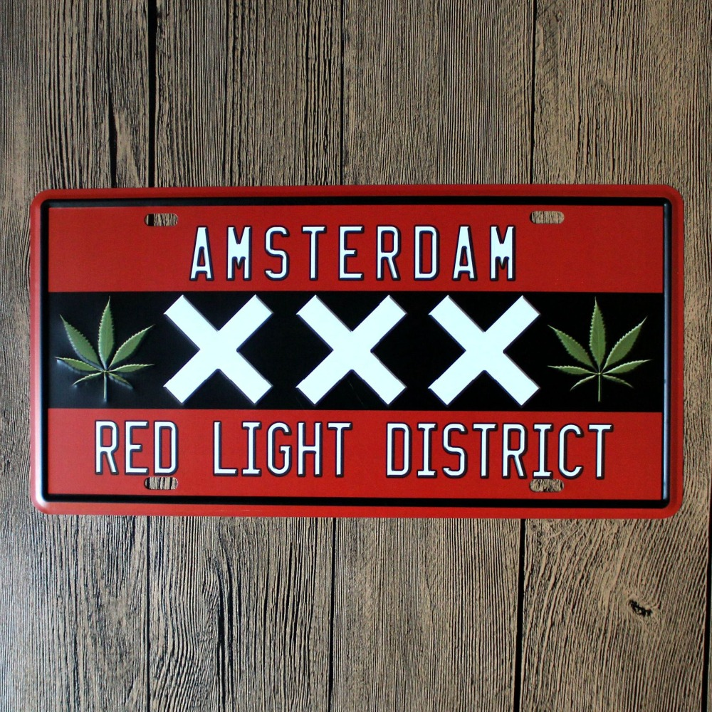 """Direct Selling LOSICOE Vintage License Plate """"XXX"""" Wall"""