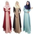 Исламская Мусульманские Платья Для Женщин Длинные Макси Халат Малайзия Турецкий Abayas В Дубае Дамы Одежда Мусульманских Женщин Платья