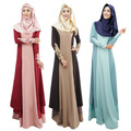 Vestidos Para Mulheres Long Maxi Robe Muçulmano islâmico Malásia Turco Das Senhoras Roupas Femininas Vestidos Muçulmanos Abayas Em Dubai