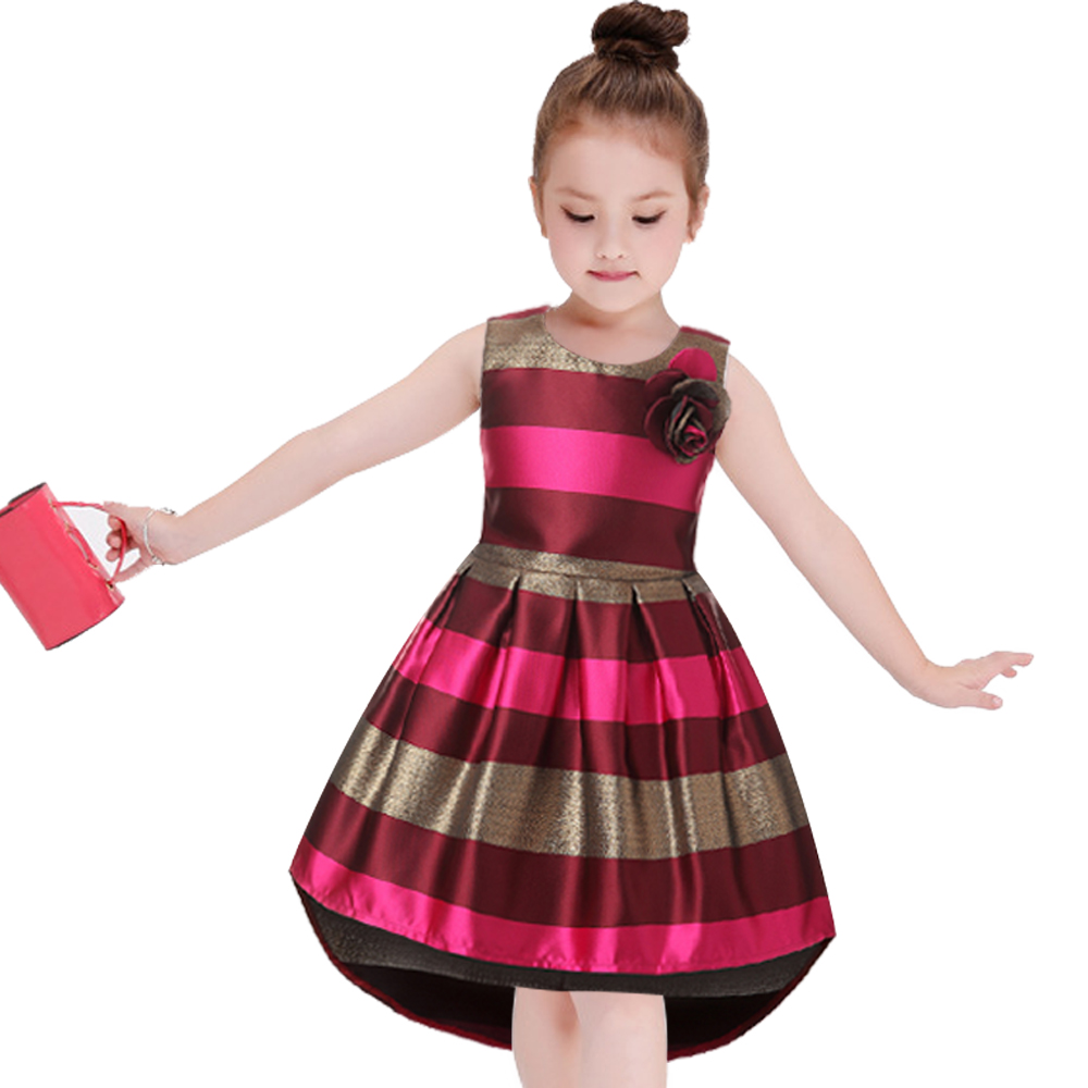 Baby-Girl-Princess-Dress-Kids-stripe-Sleeveless-Dresses-for-Toddler-Girl-Children-European-American-Fashion-Clothing-Free-Belt-3