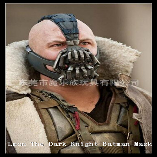 party cosplay movies batman bane latex mask the dark knight movie mask halloween costume cosplayer mask - Halloween Costumes Bane