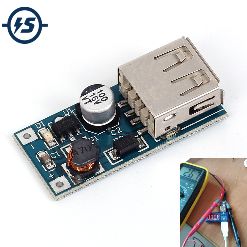 Dc 09v 5v To 600ma Power Bank Charger Step Up Boost Converter Stepupconvertercircuitjpg Supply Voltage Module Usb Output Charging Circuit Board In Integrated Circuits From