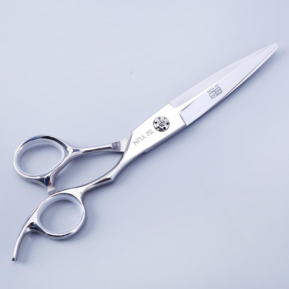 SI YUN 6.0inch(17.50cm) length WB60 model SUS440C material scissors hair professional