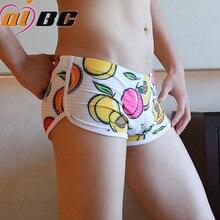 3pcs/lot Aibc Brand Boxer Lovely Cartoon Print Man Boxers Homme Comfortable Underpants Soft Breathable