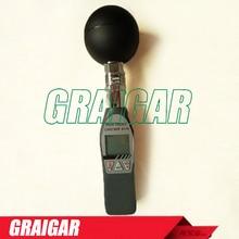 On sale AZ8778 AZ-8778 digital handheld digital hygrothermograph black bulb thermometer with LCD display
