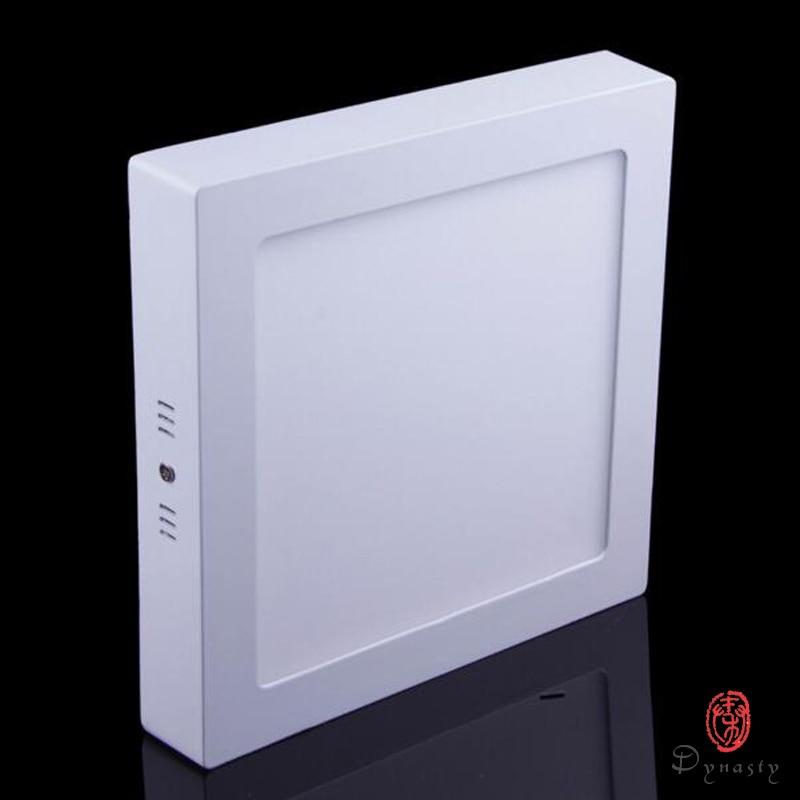 LED virsmas paneļa apgaismojums Uzstādīšana Uzstādīšana Kvadrātveida griestu alumīnija apgaismojums 9W 15W 21W Super spilgtums Virtuves mazgātava