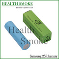 2 unids/lote genuino cantada sam 25R 2500 mAh batería INR18650-25R 20A batería recargable 35A INR18650 25R para e cigarette