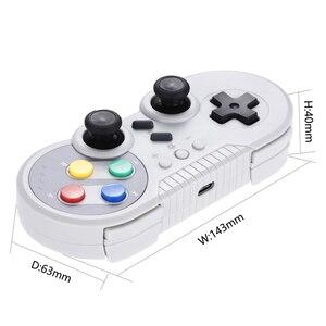 Image 5 - 무선 컨트롤러 닌텐도 스위치 프로 블루투스 게임 패드 게임 조이스틱 호환 닌텐도 스위치 윈도우 PC 안드로이드 전화