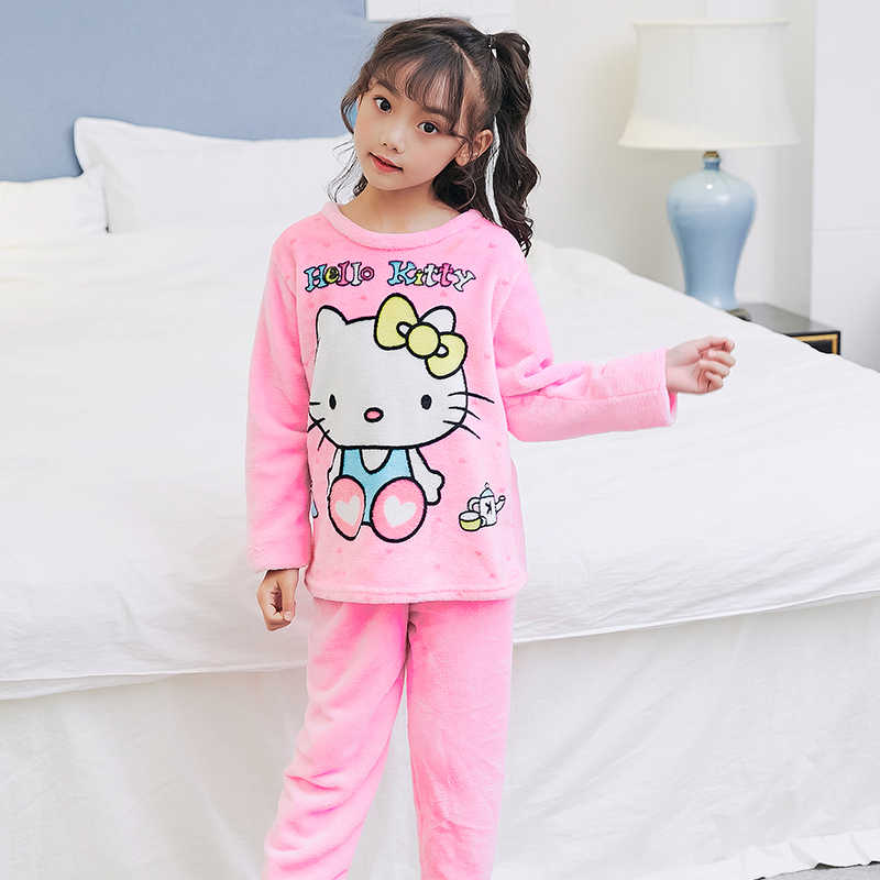 faa9959c0 Detail Feedback Questions about Winter Children Fleece Pajamas ...