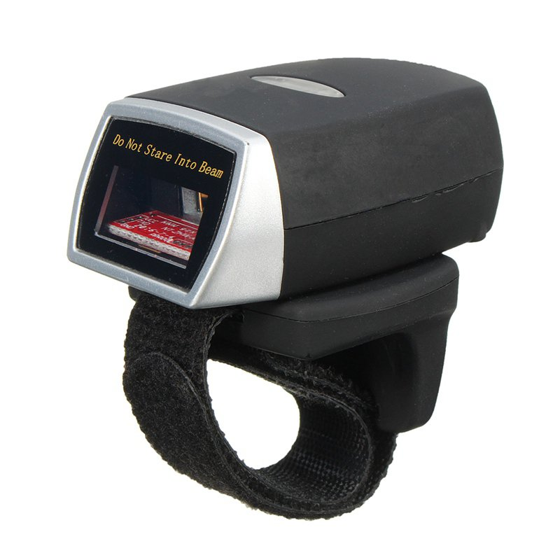 Bluetooth Scanner Mini Barcode Reader Laser Weirless Scanner Wearable Ring Bar Code Scanner 1D Reader Scan for Phone PC Tablet hand held 1d laser barcode scanner yk 960a bar code reader with usb2 0 interface free shipping for pos code laser scanner