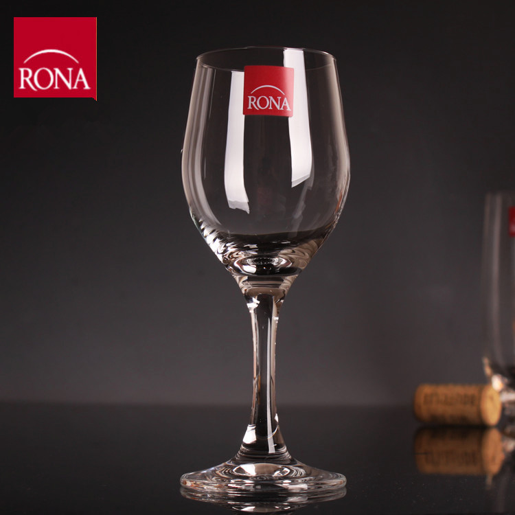 Czech Rona Red Wine Crystal Glass Of White Wine Cup White