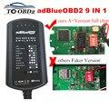 Caixa do Sistema AdBlue Emulator 9 EM 1 Para O HOMEM/MB/SCANIA/IVECO/DAF/VOLVO/RENAULT/FORD/CUMMINS AdBlue 9em1 SCR NOX & A + Versão Chip Full