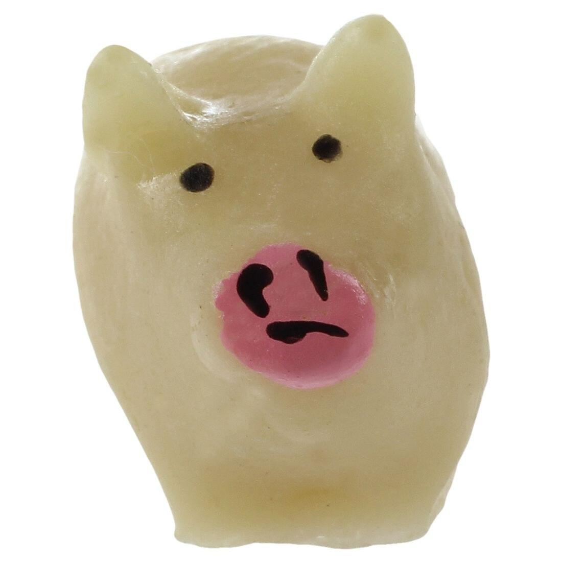 New 3Pcs Mini Dollhouse Bonsai Craft Ornament pigs toys