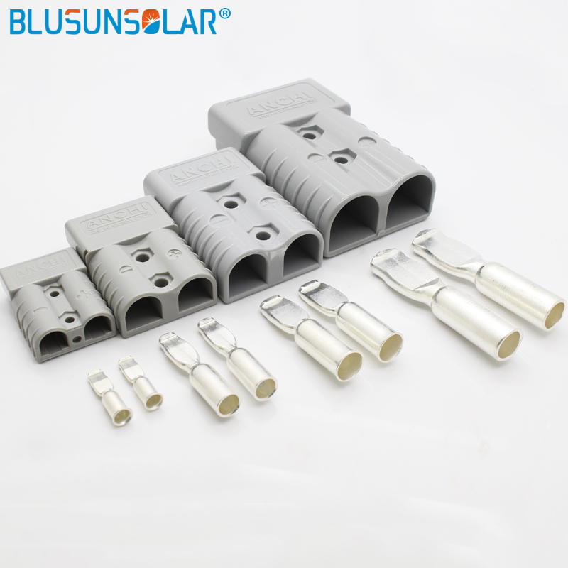 1 Pec  Power Plug Multiple Power Connector SB50 Connector Kit 50 Amps Gray Housing  10 12 AWG