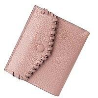 GSQ Preppy Style Plaid Women Leather Wallet Women Wallet Zipper Coin Pocket Card Holder Hot Money