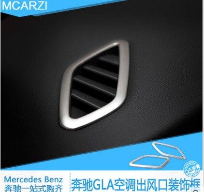 2 Stücke Auto Styling Air Vent Abdeckung Air Conditional Aufkleber - Auto-Innenausstattung und Zubehör