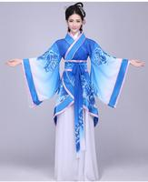 Hanfu Ladies' Song Fringing Costume Clothing Hanfu Female Summer Fairy Costume Outfit Modified Hanfu Ethnic Costumes Wind