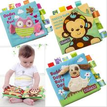 Soft Infant Early Cognitive Development My Quiet Baby Goodnight Educational Unfolding Activity Cloth Book my baby animals sticker activity book