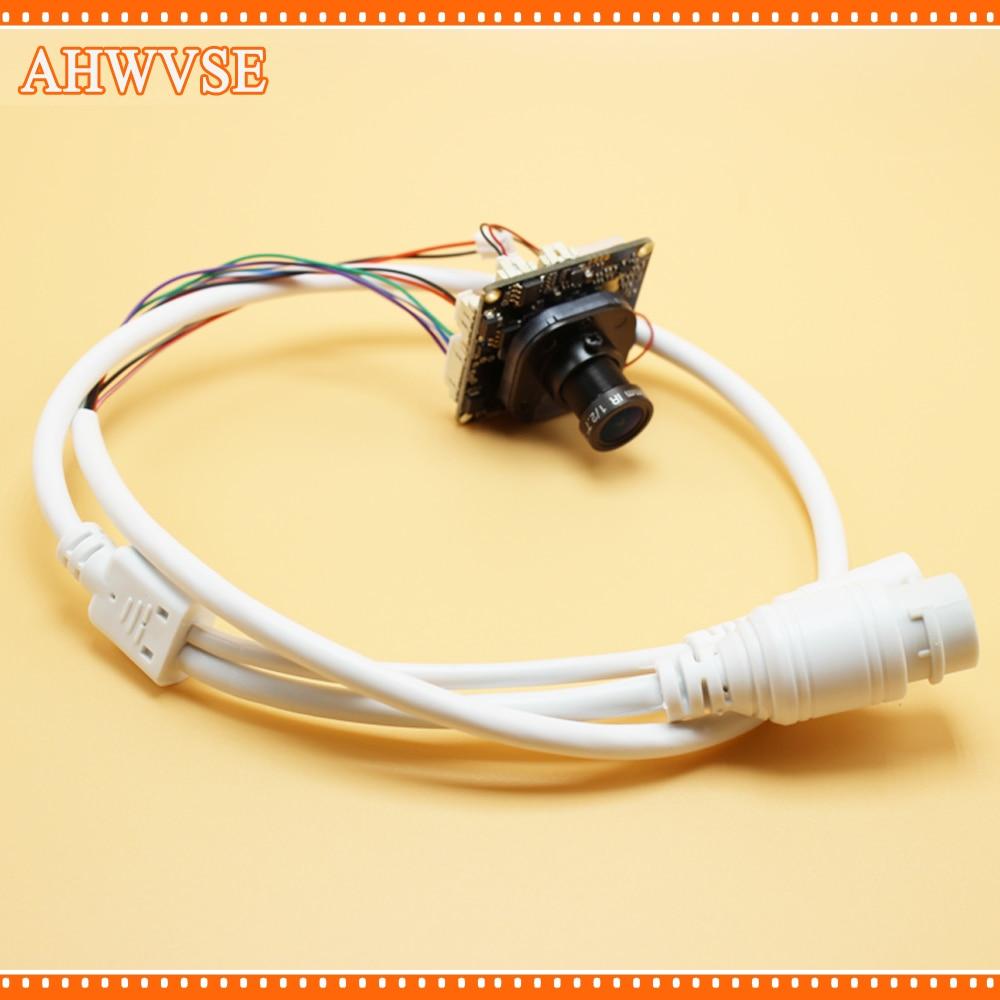AHWVSE 2Pcs 2MP IP Camera Module Indoor P2P IP Cam With 12mm Lens