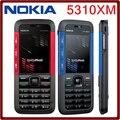 5310 Оригинальный Разблокирована Nokia 5310 XpressMusic Bluetooth Java Mp3-плеер Поддержка Русская Клавиатура Восстановленное Телефон Бесплатная Доставка