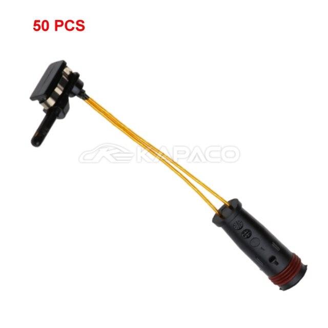 50pcs BRAKE PAD WEAR SENSOR INDICATOR 2205400617 2115401717 For Mercedes Benz W202 W211 W212 W169 W245