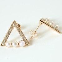 Fashion Evil Eye Heart Crystal Stud Earrings For Women Girls Brand Jewelry Brincos Pendientes Mujer Moda Joyeria Marcas Famosas 5