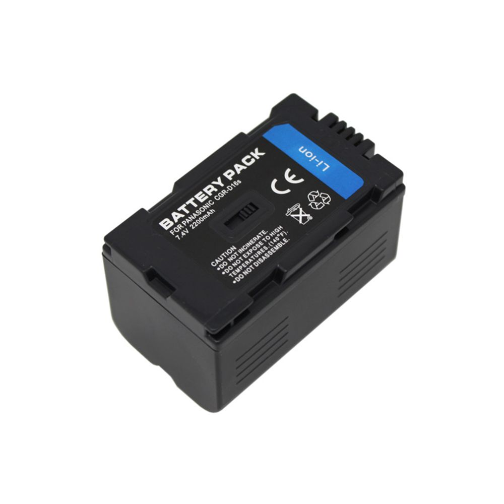 2200mAh CGR D220 CGR D220 CGR D16S CGR D16S Digital Camera Battery For Panasonic CGP D320T1B
