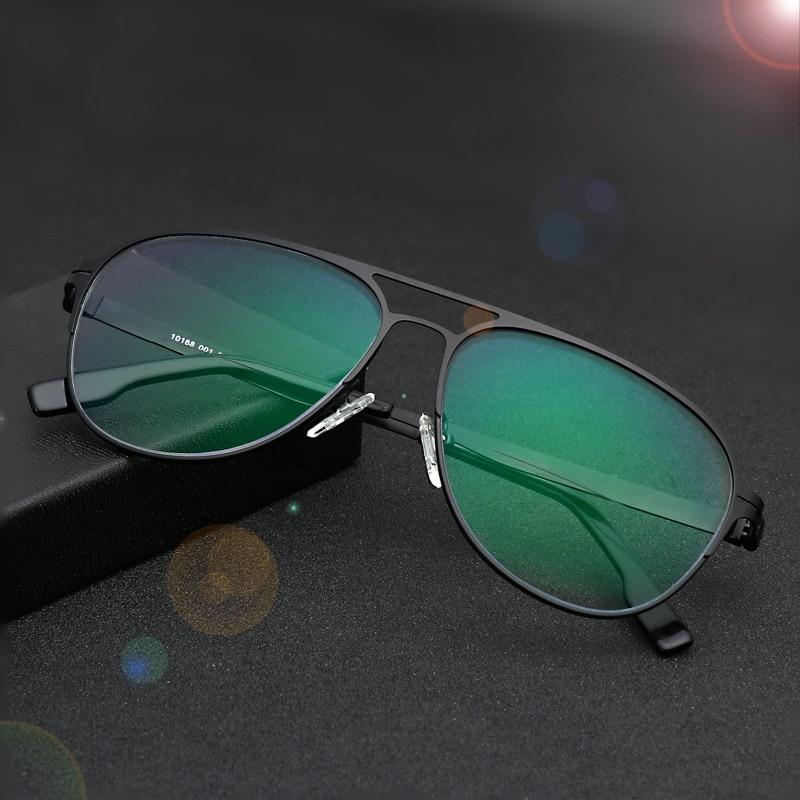 Image 3 - Myopia Sunglasses Finished Men Women Myopia Eyeglasses Frame with CR39 Sun Photochromism gray lens prescription Myopia Eyewear-in Men's Eyewear Frames from Apparel Accessories