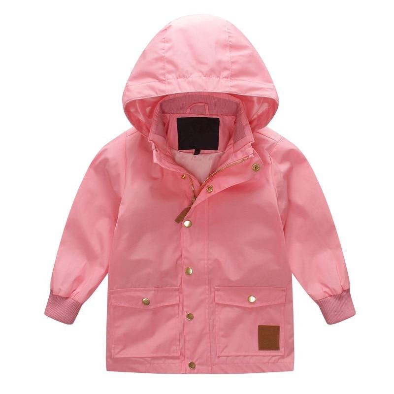 Panda Pattern Outwear Mini Rain Jacket Pico Swedish Autumn Toddler Windbreaker Trench Kids Coat Children Fall Baby Girls Boys