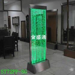 Luz festiva de pared de burbujas de agua LED, divisor de pared de panel, pantalla de burbujas de agua, fuente de burbujas