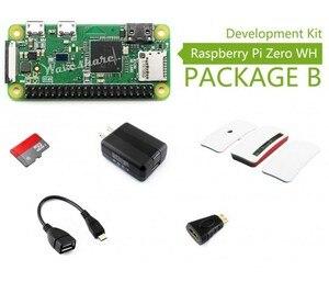 Raspberry Pi Zero WH pakiet B, z oficjalną obudową karta Micro SD, zasilacz, oficjalny futerał i podstawowe komponenty