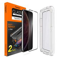 100% Original SPIGEN Glas.tR Slim EZ Fit Full Coverage Tempered Glass Screen Protector for iPhone XS Max / XS / XR / X