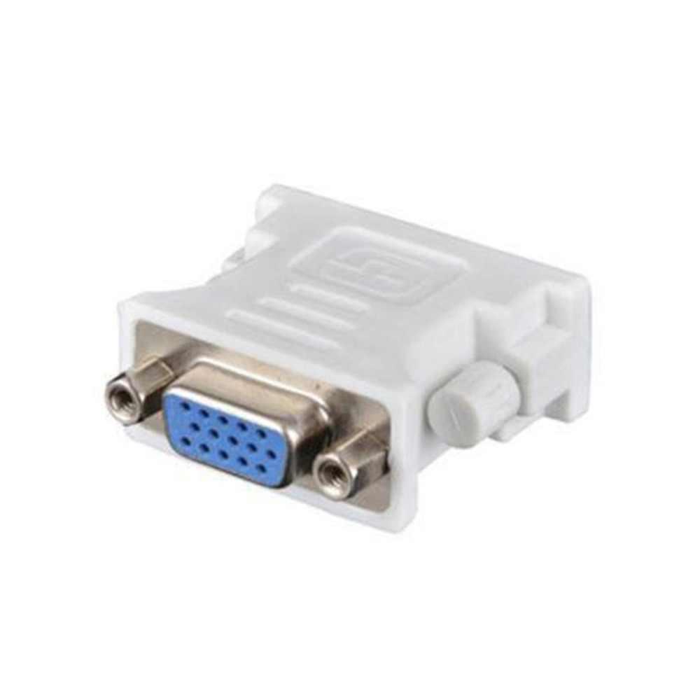 DVI D Male Naar VGA Vrouwelijke Socket Adapter Converter VGA naar DVI/24 + 1 Pin Male naar VGA vrouwelijke Adapter Converter